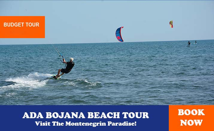 Ada bojana beach tour