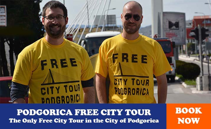 free city tour podgorica