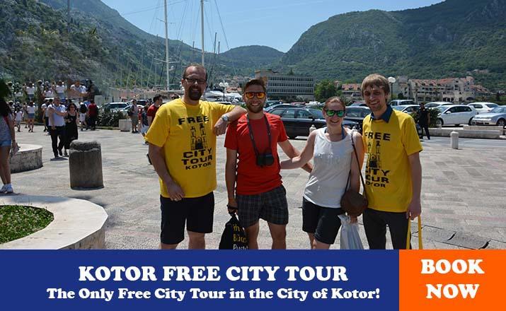 kotor free city tour